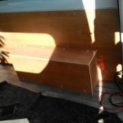 Pose des parois latérale bois et l'électricité